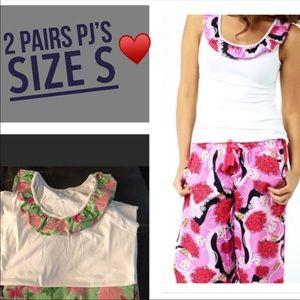 ⬇️2 pairs Summer Pajamas